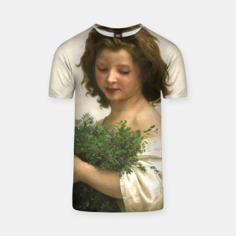 Thumbnail image of Little Esmeralda by William Adolphe Bouguereau T-shirt, Live Heroes