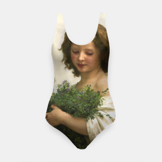 Thumbnail image of Little Esmeralda by William Adolphe Bouguereau Swimsuit, Live Heroes