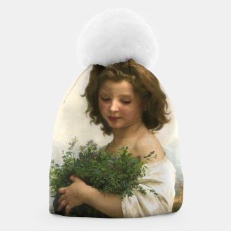 Thumbnail image of Little Esmeralda by William Adolphe Bouguereau Beanie, Live Heroes