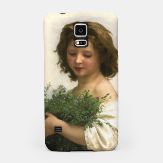 Thumbnail image of Little Esmeralda by William Adolphe Bouguereau Samsung Case, Live Heroes