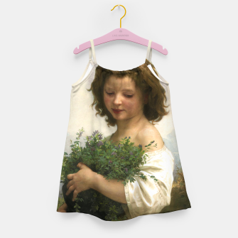 Thumbnail image of Little Esmeralda by William Adolphe Bouguereau Girl's dress, Live Heroes