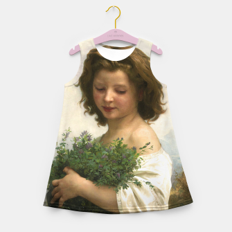 Thumbnail image of Little Esmeralda by William Adolphe Bouguereau Girl's summer dress, Live Heroes