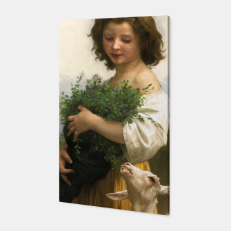 Thumbnail image of Little Esmeralda by William Adolphe Bouguereau Canvas, Live Heroes