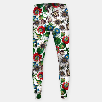 Miniatur Botanical Flowers Sweatpants, Live Heroes