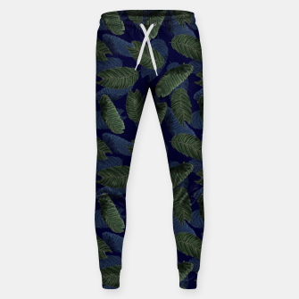 Miniatur Leaves Sweatpants, Live Heroes