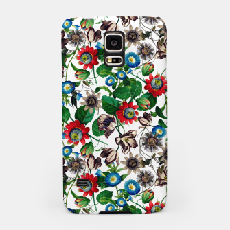 Miniatur Botanical Flowers Samsung Case, Live Heroes