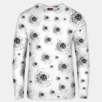 Thumbnail image of Dandelions abstract Unisex sweater, Live Heroes
