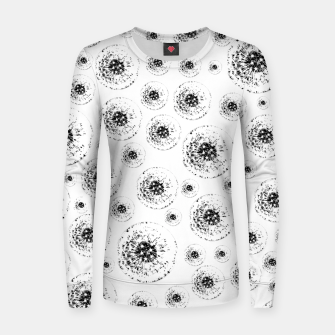 Thumbnail image of Dandelions abstract Women sweater, Live Heroes