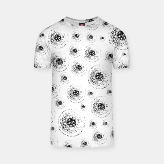 Thumbnail image of Dandelions abstract T-shirt, Live Heroes