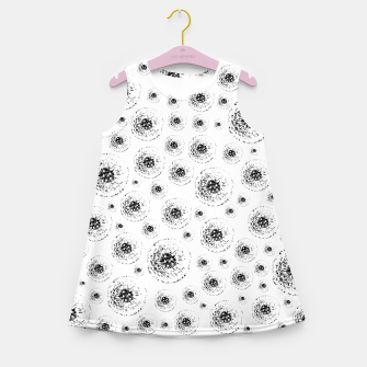 Thumbnail image of Dandelions abstract Girl's summer dress, Live Heroes