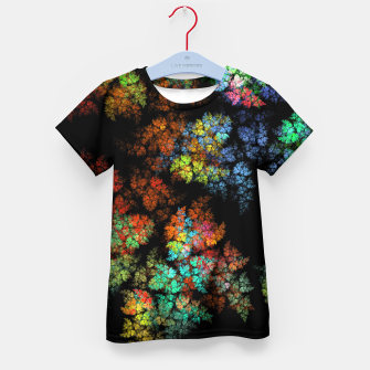 Thumbnail image of Glowing leaves Kid's t-shirt, Live Heroes