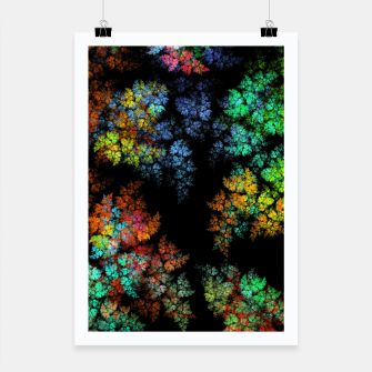 Thumbnail image of Glowing leaves Poster, Live Heroes