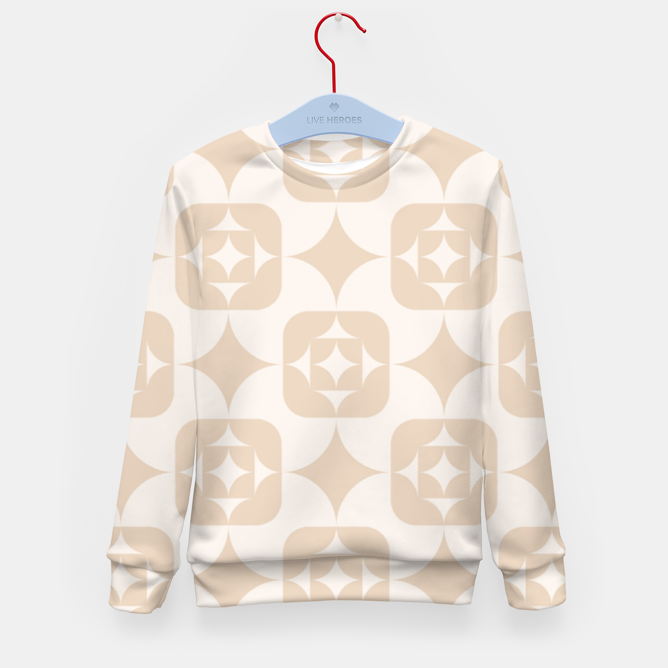 Image of Elegant Wallpaper Kid's sweater - Live Heroes