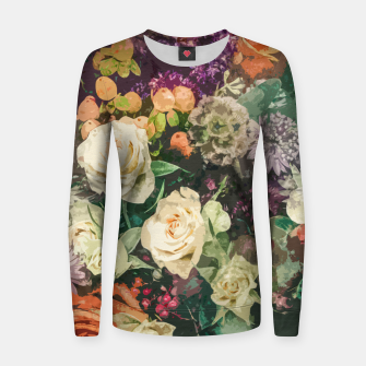 Thumbnail image of Floral Bunch Women sweater, Live Heroes