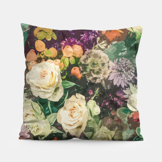 Thumbnail image of Floral Bunch Pillow, Live Heroes