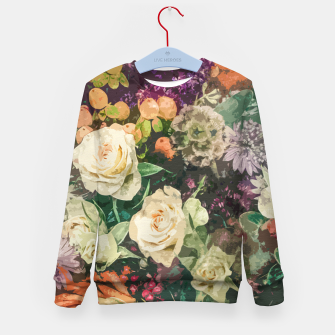 Thumbnail image of Floral Bunch Kid's sweater, Live Heroes