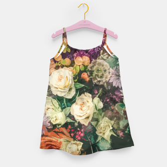 Thumbnail image of Floral Bunch Girl's dress, Live Heroes