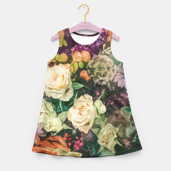 Thumbnail image of Floral Bunch Girl's summer dress, Live Heroes