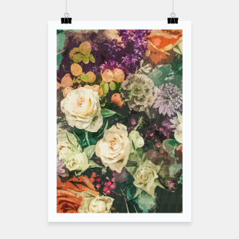 Thumbnail image of Floral Bunch Poster, Live Heroes