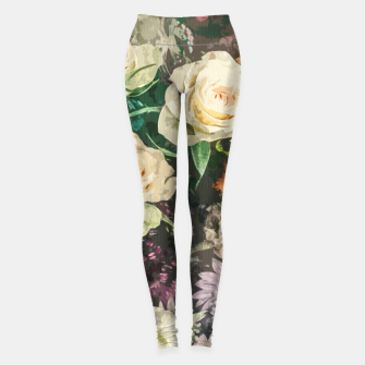 Thumbnail image of Floral Bunch Leggings, Live Heroes