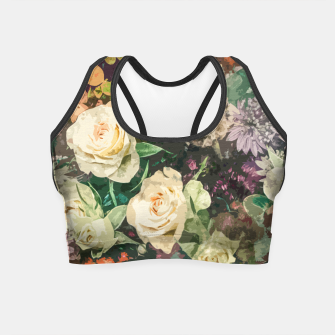 Thumbnail image of Floral Bunch Crop Top, Live Heroes