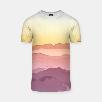 Thumbnail image of Mountain Waves T-shirt, Live Heroes