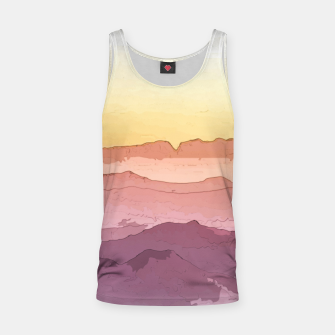 Thumbnail image of Mountain Waves Tank Top, Live Heroes