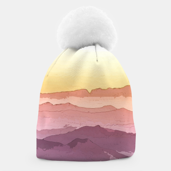 Thumbnail image of Mountain Waves Beanie, Live Heroes