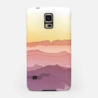 Thumbnail image of Mountain Waves Samsung Case, Live Heroes