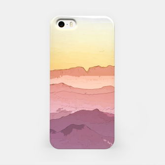 Miniatur Mountain Waves iPhone Case, Live Heroes