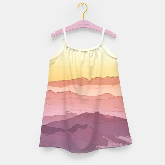 Thumbnail image of Mountain Waves Girl's dress, Live Heroes