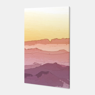 Thumbnail image of Mountain Waves Canvas, Live Heroes