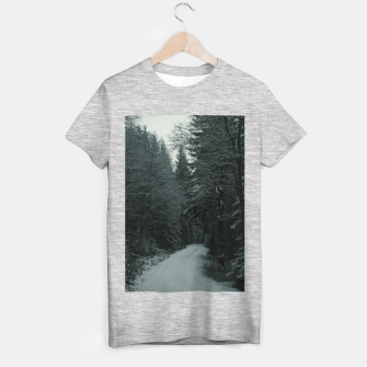 Miniatur Winter path T-shirt regular, Live Heroes