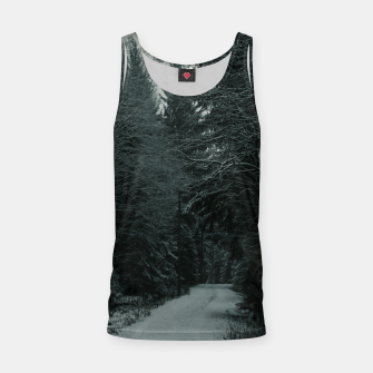 Miniatur Winter path Tank Top, Live Heroes