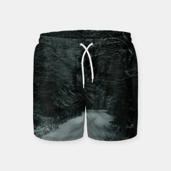 Miniatur Winter path Swim Shorts, Live Heroes