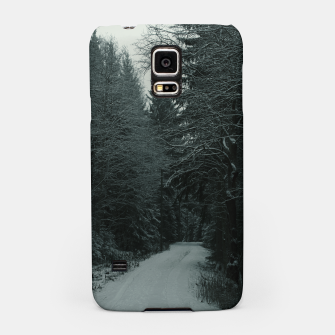 Miniatur Winter path Samsung Case, Live Heroes