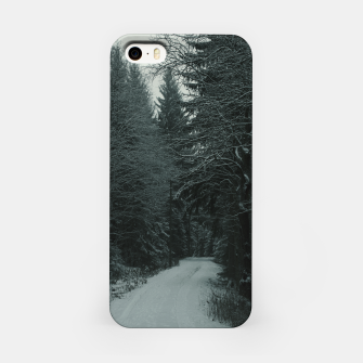 Miniatur Winter path iPhone Case, Live Heroes