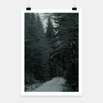 Miniatur Winter path Poster, Live Heroes