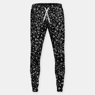 Thumbnail image of Dungeon Master RPG Gamer Dice Sweatpants, Live Heroes