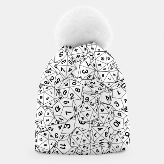 Thumbnail image of Dungeon Master RPG Gamer Dice II Beanie, Live Heroes