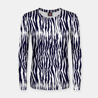 Animal Texture Women sweater Bild der Miniatur
