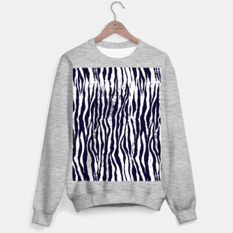 Animal Texture Sweater regular Bild der Miniatur