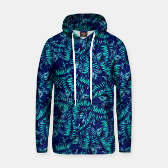 Miniatur Tropical Leaves Hoodie, Live Heroes