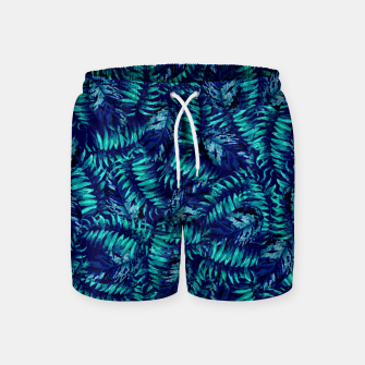 Miniatur Tropical Leaves Swim Shorts, Live Heroes