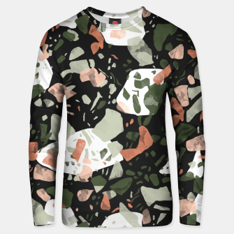 Imagen en miniatura de Abstract forms of dark terrazzo Sudadera unisex, Live Heroes