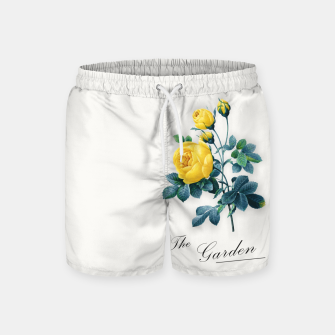 Thumbnail image of The Garden Swim Shorts, Live Heroes