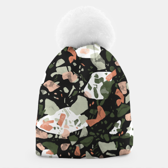 Miniaturka Abstract forms of dark terrazzo Gorro, Live Heroes
