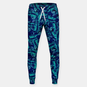 Miniatur Tropical Leaves Sweatpants, Live Heroes