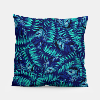 Miniatur Tropical Leaves Pillow, Live Heroes