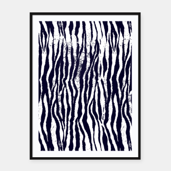 Miniatur Animal Texture Framed poster, Live Heroes